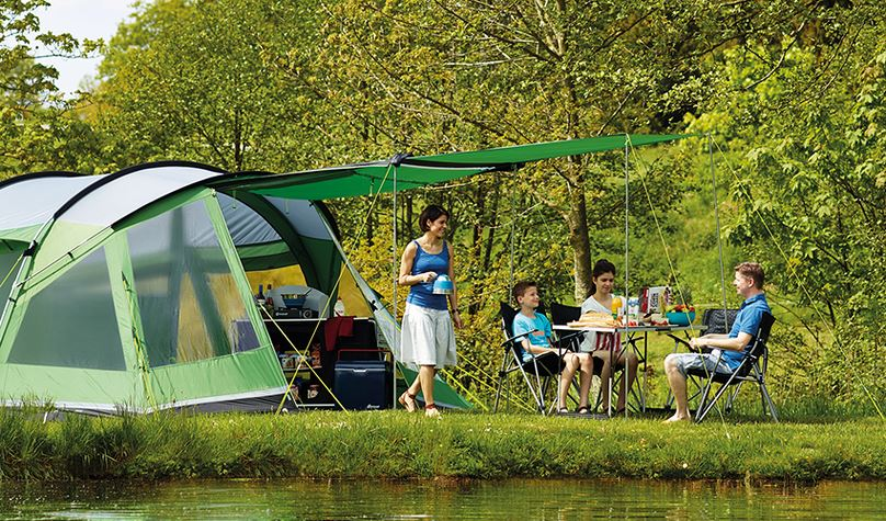 Outwell family camping tent