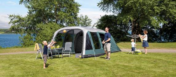 Outwell inflatable tents