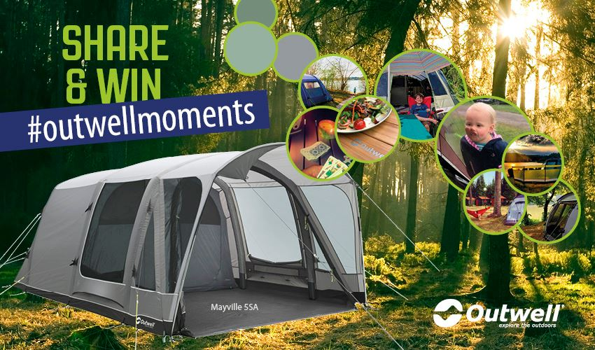 Family camping in Mayville 6SA tent from Smart Air Collection