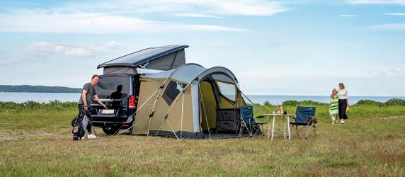 Outwell motorhome awning