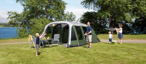 Outwell inflatable air tent