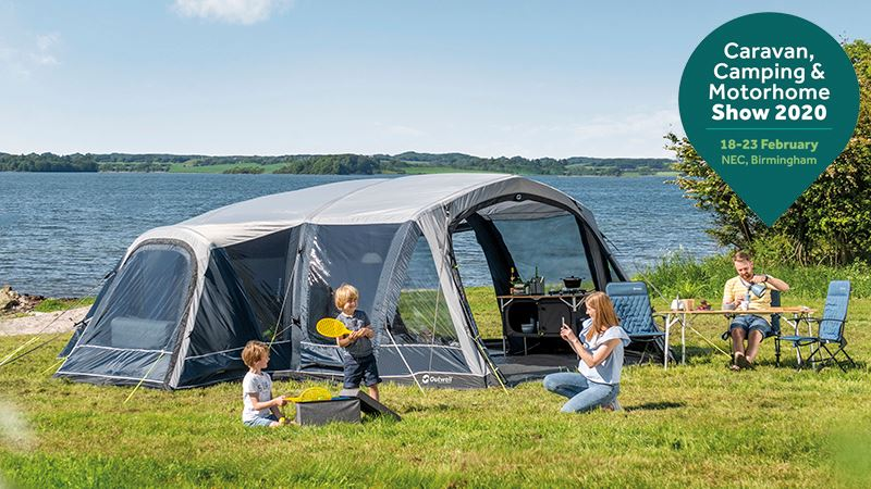Visit Outwell at Caravan, camping and motorhome show 2019 in Birmingham