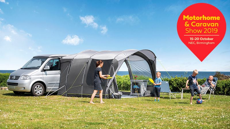 Visit Outwell at Caravan and motorhome show 2019 in Birmingham