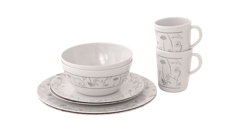 Outwell Dahlia 2 Person Dinner Set