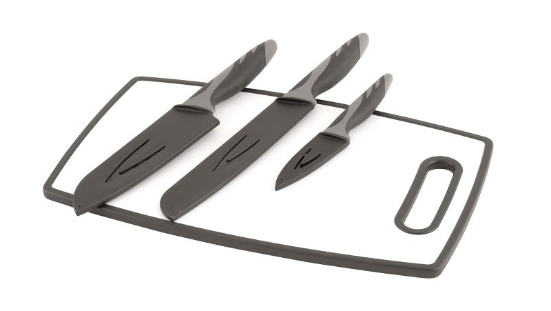 Outwell Caldas Knife Set w/Cutting Board