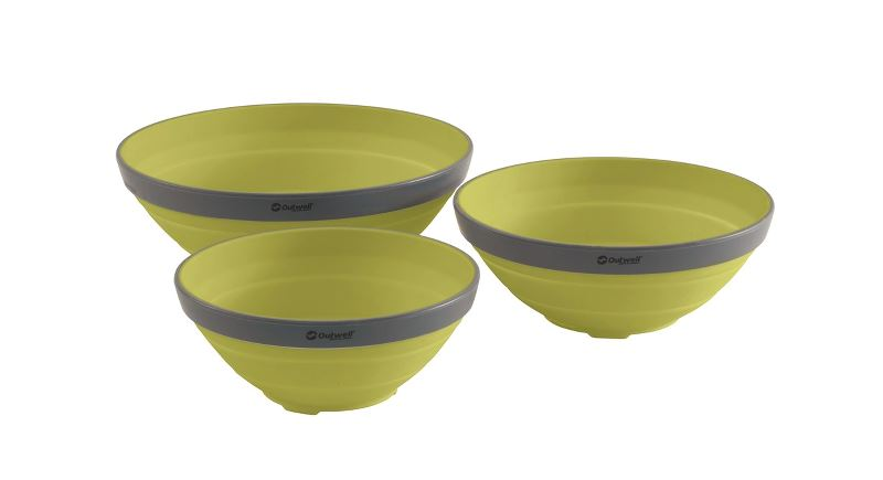 Outwell Collaps-Schüsselset Lime Green