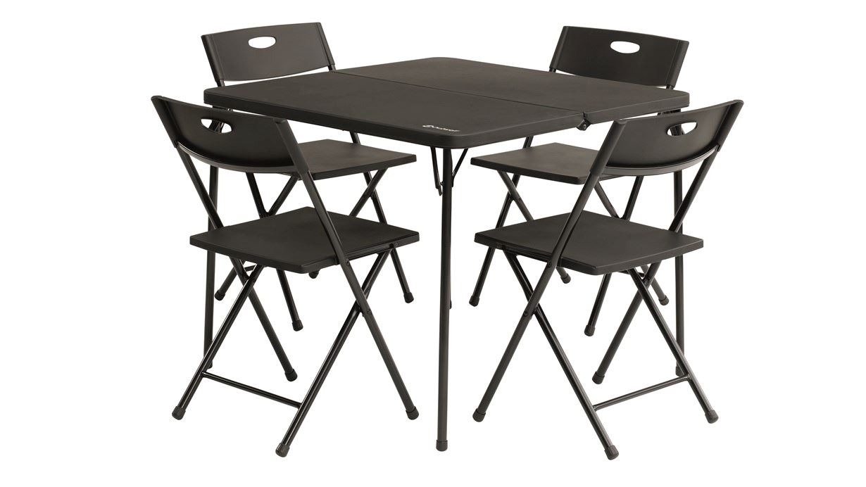 Camping Table And Chairs.Corda Picnic Table Set