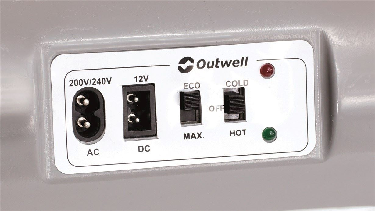 Outwell ECOcool Lite Light Petrol 24L 12V/230V - UK