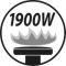 Burner output 1900W