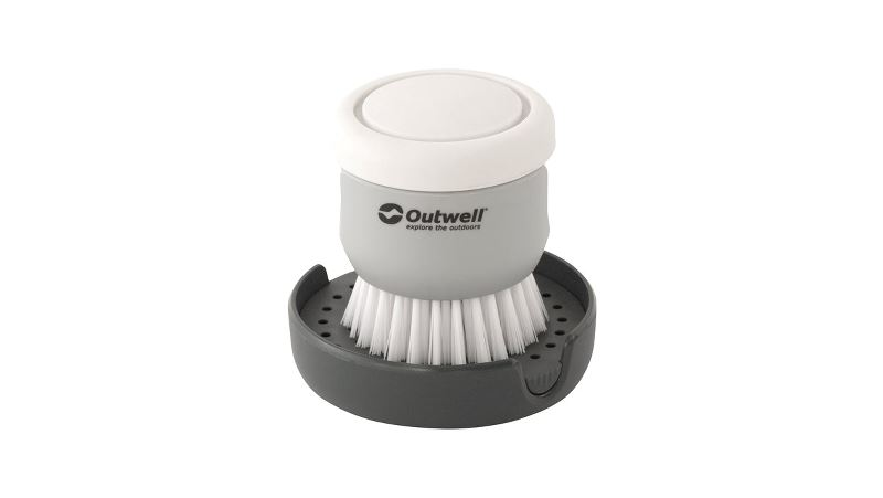 Outwell Kitson Brush w/Soap Dispenser