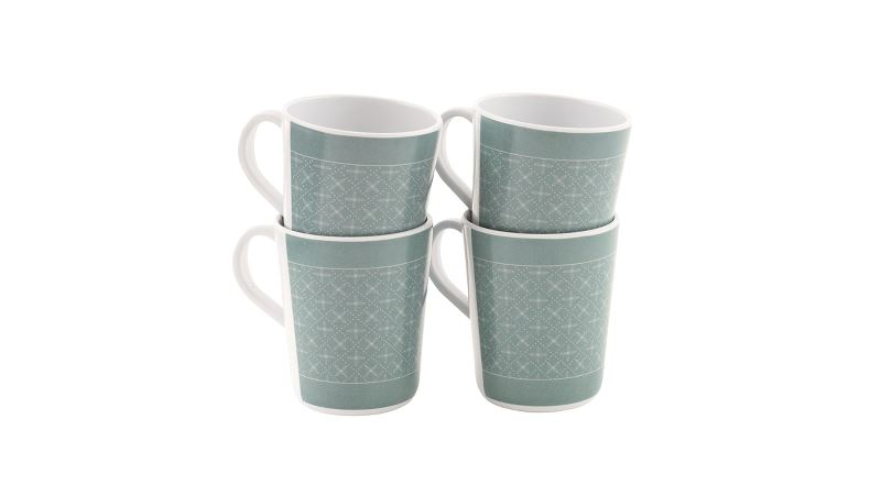 Outwell Blossom Mug Set Blue Shadow