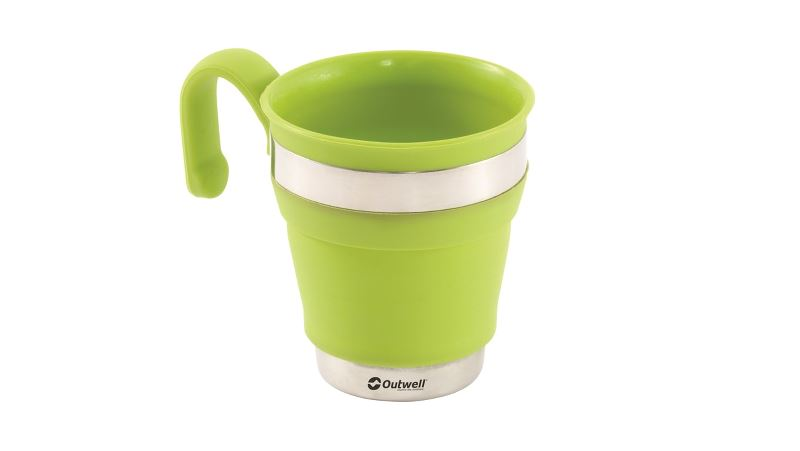 Outwell Collaps Becher Lime Green