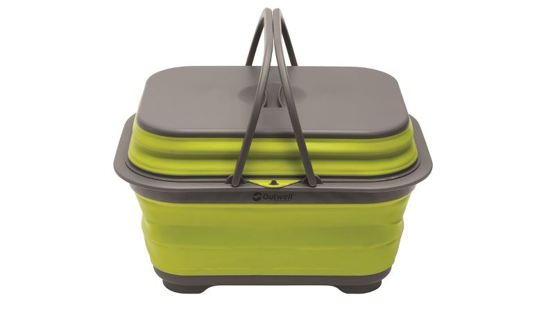 Outwell Collaps Washing Base w/handle & lid Lime Green
