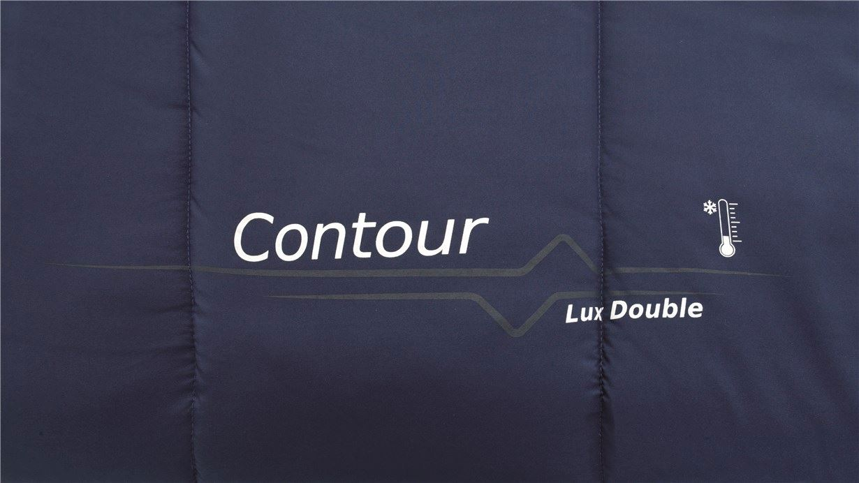 Outwell Contour Lux Double Imperial Blue
